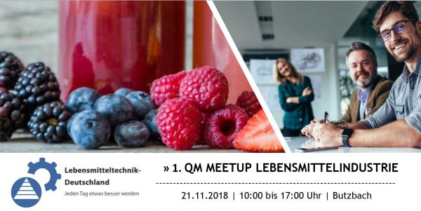 Lebensmitteltechnik-Deutschland QM-Meetup 2018