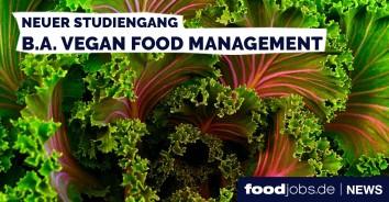 Vegan Food Management Studiengang