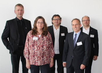 Dr. Helmut Steinkamp (Moderator); Prof. Dr. Andrea Kruse; Prof. Dr. Tilo Hühn; Prof. Dr. Reinhard Kohlus; Dr. Stefan Pecoroni.