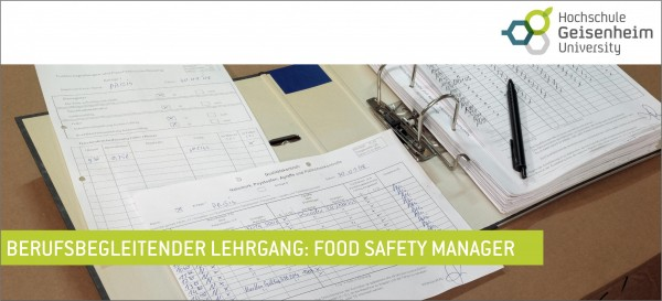 15. Food Safety Manager Kurs 2019