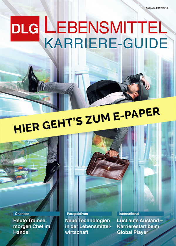 DLG Lebensmittel Karriere Guide